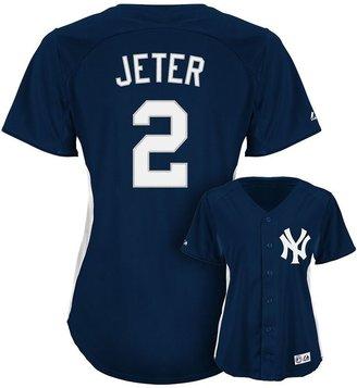 New York Yankees Majestic derek jeter batting practice jersey - women's