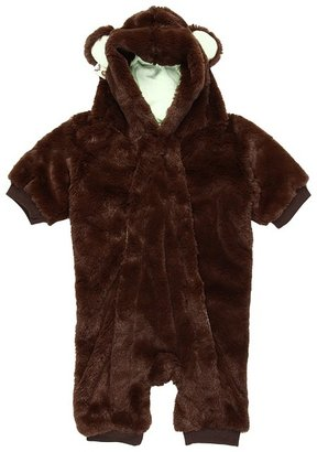 Spirit Hoods SpiritHoods - Newborn Romper Brown Bear (Newborn 0-3 Months) (Brown) - Apparel