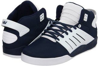 Supra Skytop III (Navy Coated Canvas/White) - Footwear