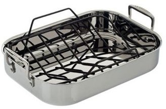 Le Creuset 14.5 x 10.75-in. Small Roasting Pan Set