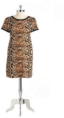 Chelsea & Theodore Printed Shift Dress