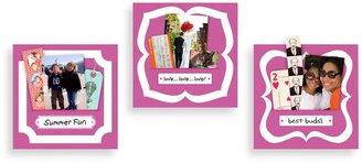 Bed Bath & Beyond Butch & Harold Sticker Pockets in Rose (Set of 3)