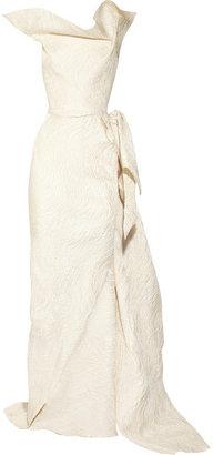 Roland Mouret Breton matelassé gown