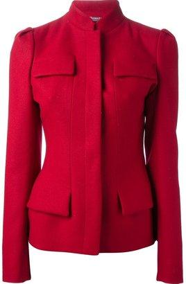 Alexander McQueen structured jacket