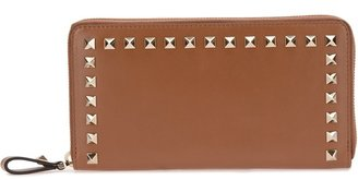 Valentino Garavani 'Rockstud' zip around wallet