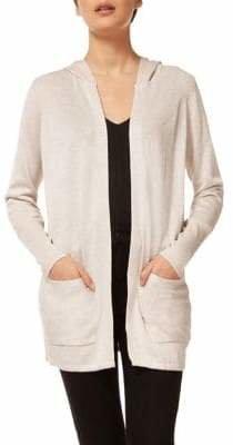 Dex Long-Sleeve Hooded Cardigan