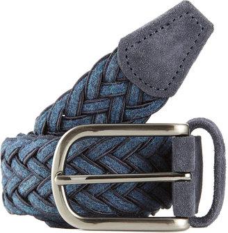 Barneys New York Woven Belt