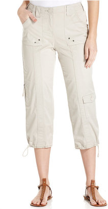 Style & Co Cargo Capri Pants, Only at Macy's $24.98 thestylecure.com
