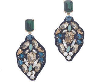J.Crew Seaport stone earrings