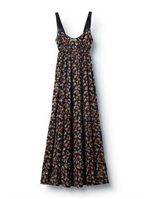 Quiksilver Fern Floral Maxi Dress