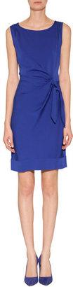 Diane von Furstenberg Silk New Della Dress in Vivid Blue