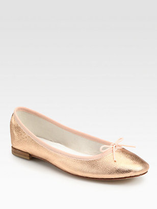 Repetto Metallic Ballet Flats