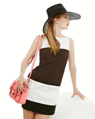 Kate Spade Colorblock Bicolor Shift Dress