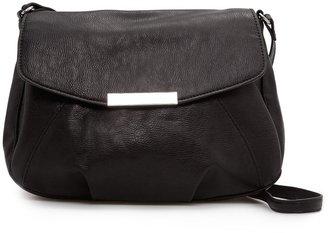 MANGO Metal plate shoulder bag