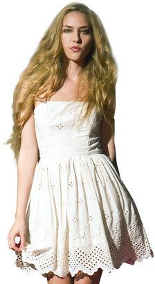 Corey Lynn Calter Eyelet Dress