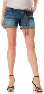 Motherhood Secret Fit Belly® Distressed Fabric Maternity Shorts