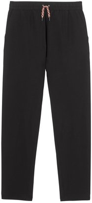Burberry Icon Stripe Detail Wool Mohair Trackpants
