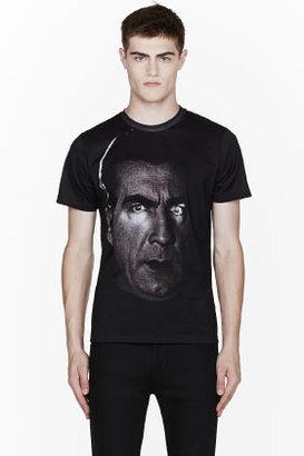 Christopher Kane Black Dracula Print Crewneck T-shirt