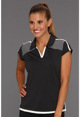 adidas ClimaCool 3-Stripes Polo '13 (Black/White) - Apparel