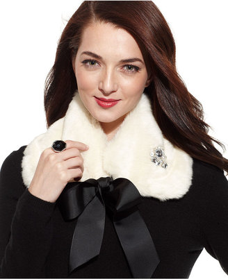 Collection XIIX Scarf, Faux Fur Collar with Jewels