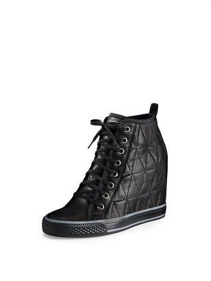DKNY Grommet Wedge Sneaker