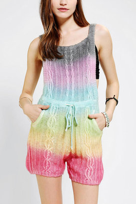 Urban Outfitters UNIF Tie-Dye Cake Romper