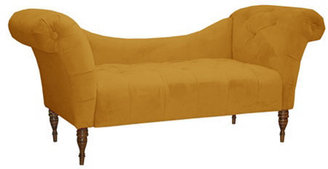 Cameron Tufted Chaise, Honey