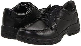 Dansko Wyatt (Black Full Grain) Men's Lace up casual Shoes