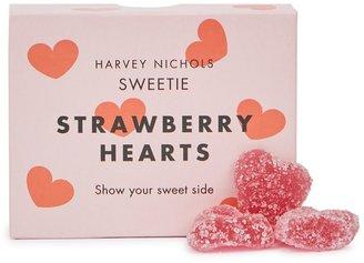 Harvey Nichols Strawberry Hearts Jelly Box 75g