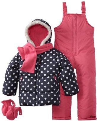 Carter's Girls 2-6x Two Piece Snowsuit Jacket