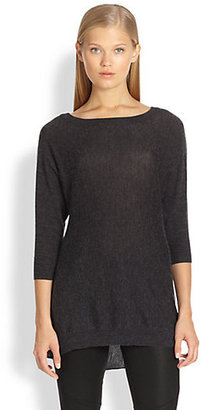Alice + Olivia Drapey Wool & Cashmere Dolman Sweater