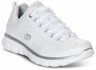 Skechers Women's Elite Status Casual Sneakers from Finish Line $59.99 thestylecure.com