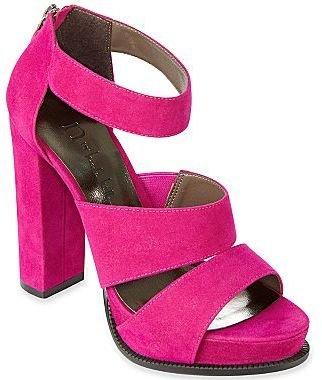 Nicole Miller n by Jupiter Chunky-Heel Sandals