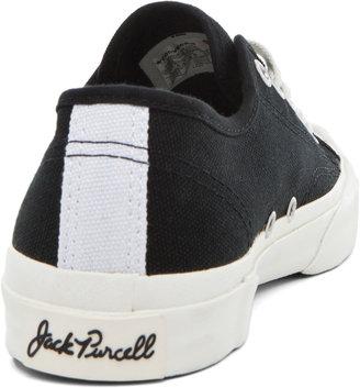 Comme des Garcons Converse Jack Purcell Sneaker in Black & Black