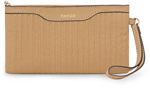 MANGO Quilted cosmetic bag