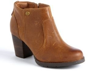 CLARKS Mission Philby Leather Ankle Boots