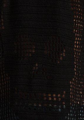 Autumn Cashmere Hand Crochet Skull Tank
