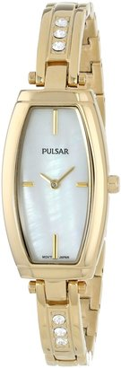 Pulsar Women's PM2056 Analog Display Japanese Quartz Gold Watch