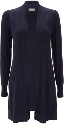 Wallis Navy Long Cardigan