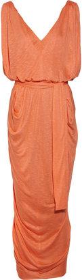 T-Bags Slub-jersey maxi dress