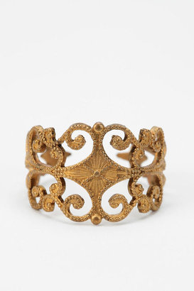 Urban Outfitters Diament Jewelry for Urban Renewal Vintage Filigree Ring