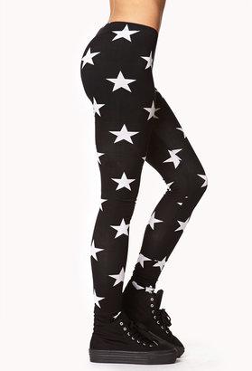 Forever 21 Shining Star Leggings