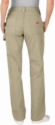 Dickies Relaxed Straight-Leg Canvas Carpenter Pants - Women's