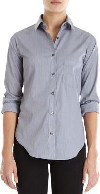 Barneys New York Micro Check Shirt