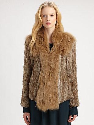 Elizabeth and James Kerri Fur Jacket