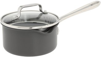 Emerilware Emeril - Hard Anodized 1 Qt. Sauce Pan (Black) - Home