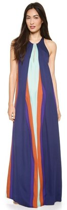 Diane von Furstenberg Jordan Halter Maxi Dress