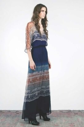 Twelfth Street By Cynthia Vincent Long Ombre Dress in Multi $415 thestylecure.com