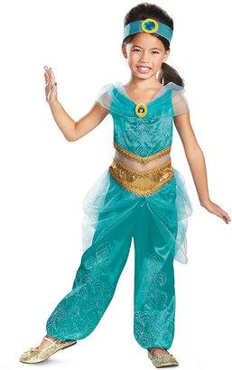 Disney Kids Costume, Girls or Little Girls Jasmine Sparkle Deluxe Costume