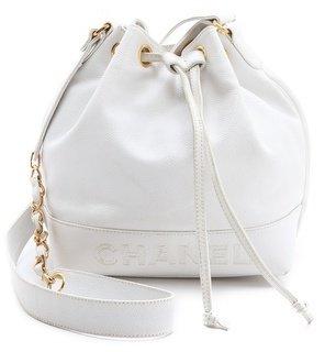 WGACA Vintage Chanel Caviar Bucket Bag
